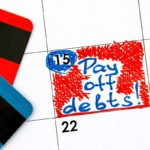 calendar with credit card debt