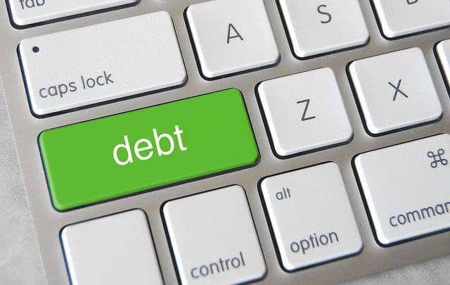 Debt button on keyboard