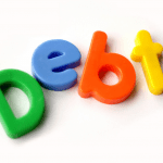 Debt toy letters
