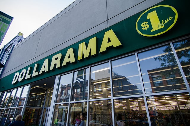 Dollarama low price store