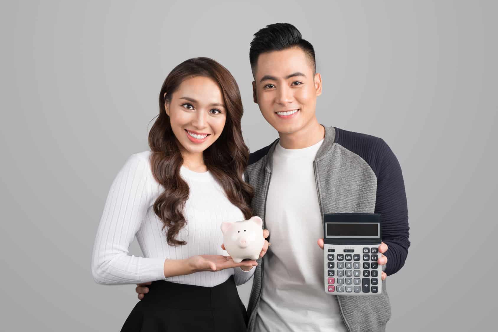 debt free, couple