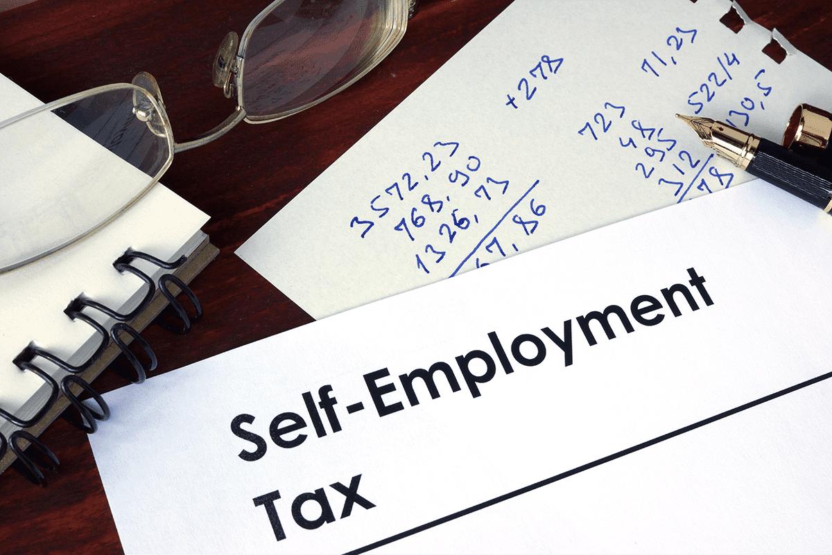 Self-employment tax paper