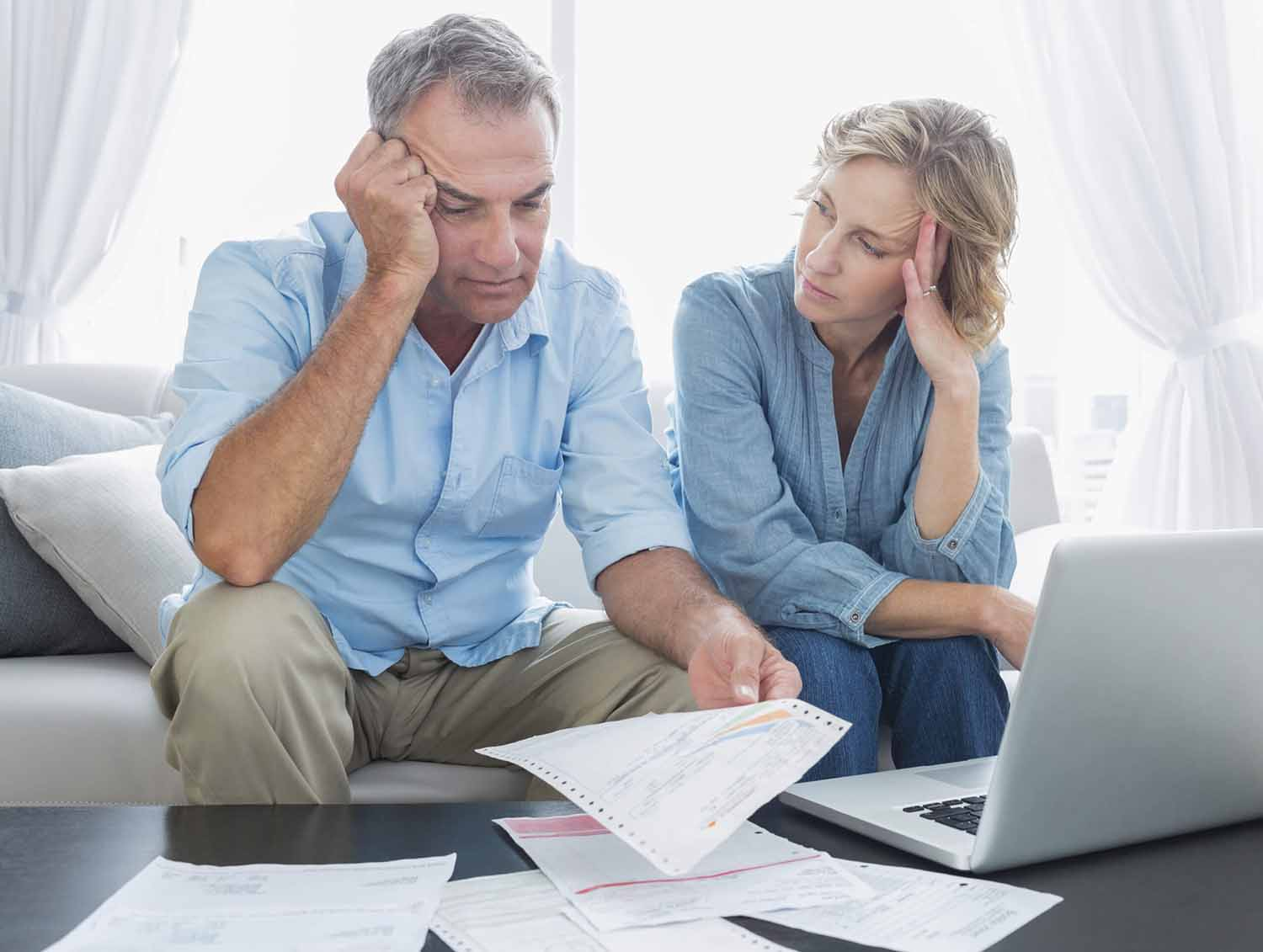 Couple considers if they should file for bankruptcy