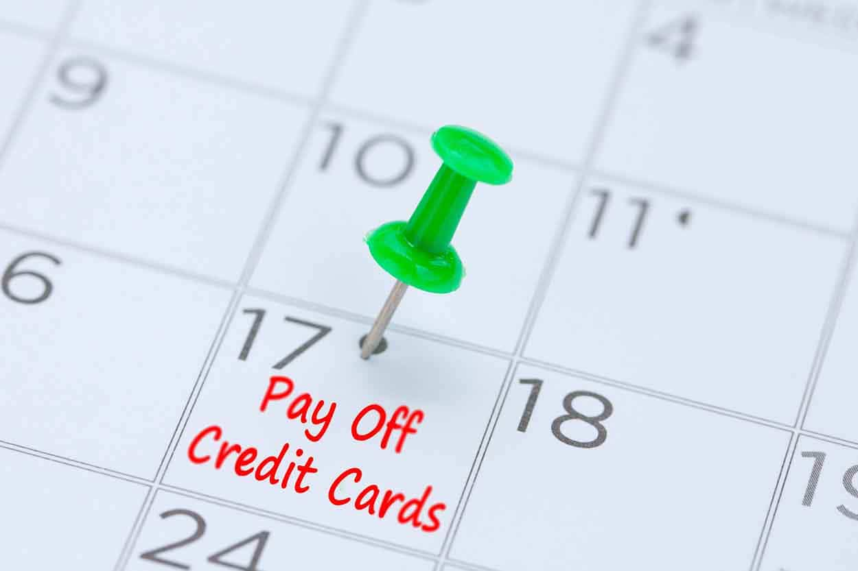 With a debt management plan, you'll have a definitive date to pay off your credit cards