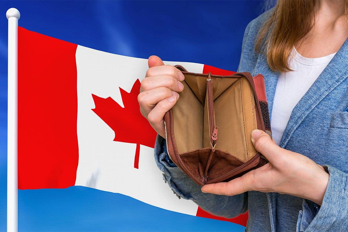 Wallet empty personal bankruptcies