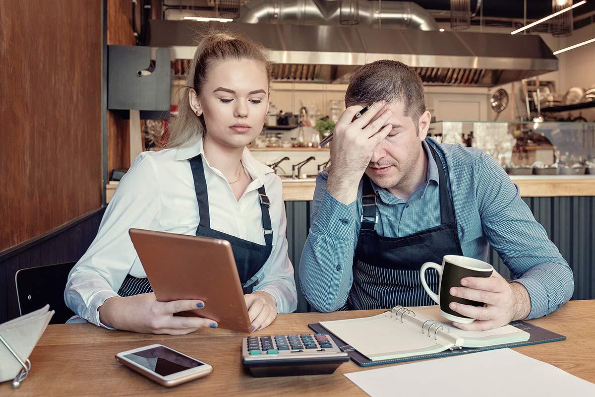 Entrepreneurs overwhelmed by finance problems