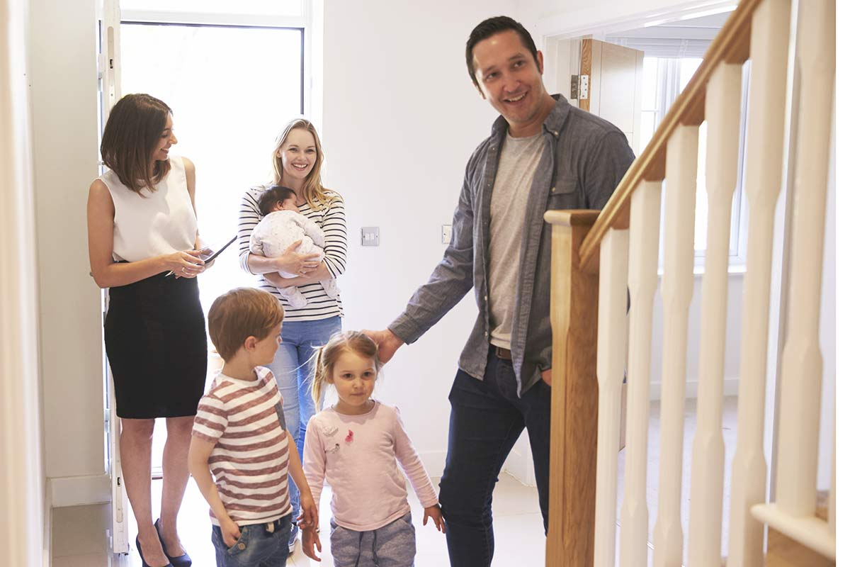 Realtor Showing Family Property For Sale
