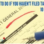 haven't filed taxes forms