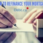paperwork to refinance your mortgage