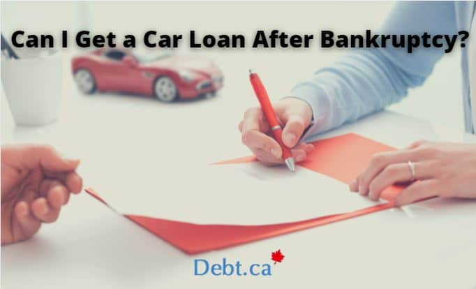 signing loan papers for a vehicle