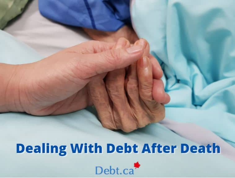 holding hands with person on death bed