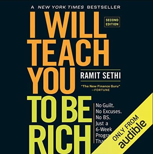 I will teach you to be rich book cover