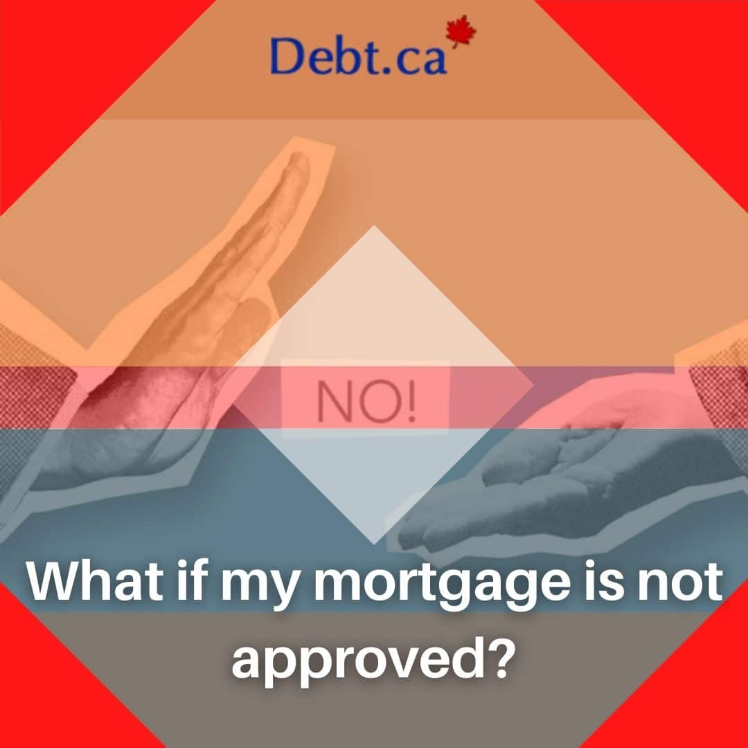 man finding out his mortgage is not approved